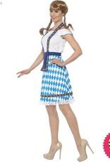Smiffys *DISC* Blue Bavarian Maid