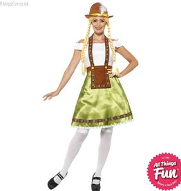 Smiffys Bavarian Maid Costume