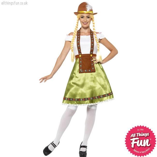 Smiffys Bavarian Maid Costume