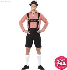 Smiffys Red Oktoberfest Costume