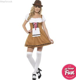 Smiffys Bavarian Beer Maid Costume