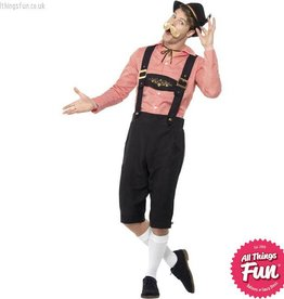 Smiffys Red Bavarian Beer Guy Costume
