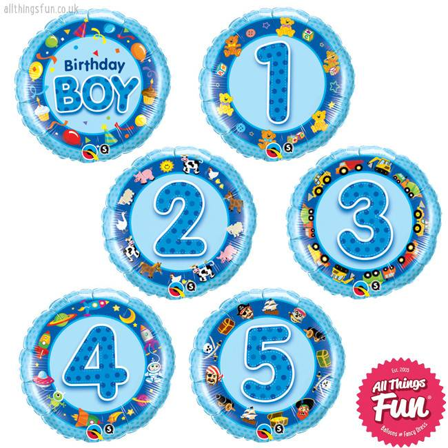 Birthday Boy Classic (Ages 1 to 5)