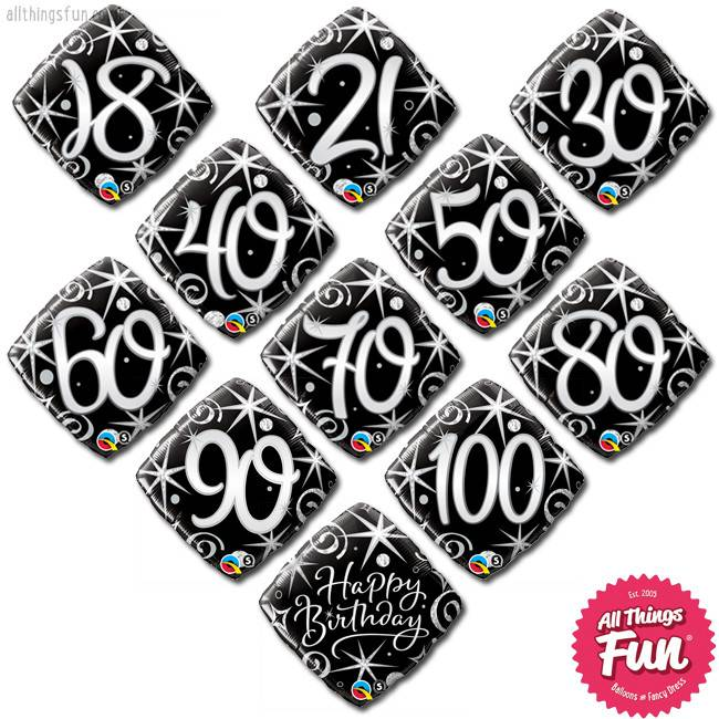 All Things Fun Birthday Elegant Mini (ages 18 to 100)