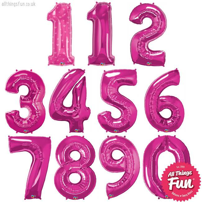 All Things Fun Number Super (Ages 1 to 9) Pink