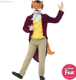 Smiffys Roald Dahl Child's Fantastic Mr Fox Costume