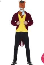 Smiffys Roald Dahl Adult Fantastic Mr Fox Costume