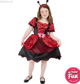 Smiffys *DISC* Little Lady Bug Costume