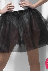 Smiffys Black Petticoat Underskirt