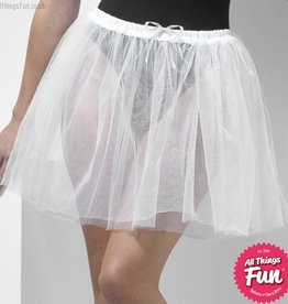 Smiffys White Petticoat Underskirt