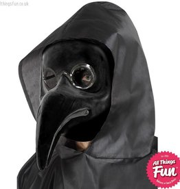 Smiffys Authentic Black Plague Doctor Mask