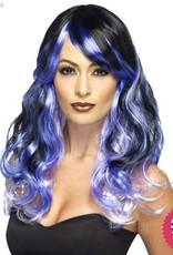 Smiffys Ombre Purple Midnight Siren Wig