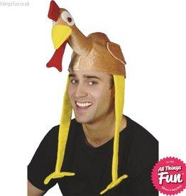 Smiffys Gobbler Bonnet Turkey Hat