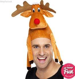 Smiffys Reindeer Hat
