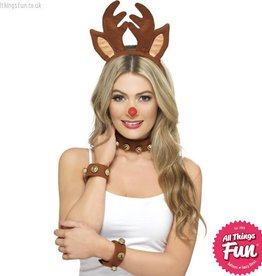 Smiffys Pin Up Reindeer Kit