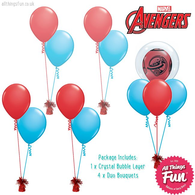 All Things Fun Basic Marvels Avengers Package