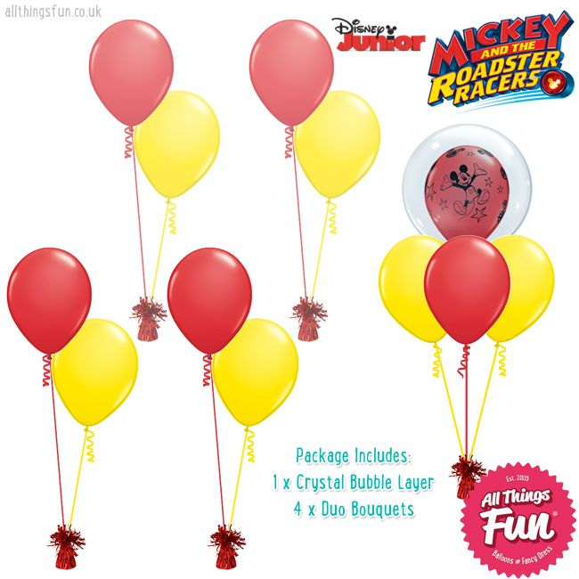 All Things Fun Basic Mickey Mouse Package