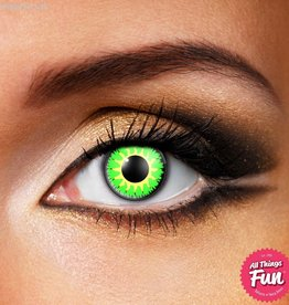 Funky Vision Glamour Green Cosmetic Lens - 90 Day