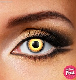 Funky Vision Glamour Honey Cosmetic Lens - 90 Day