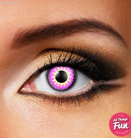 Funky Vision Glamour Violet Cosmetic Lens - 90 Day