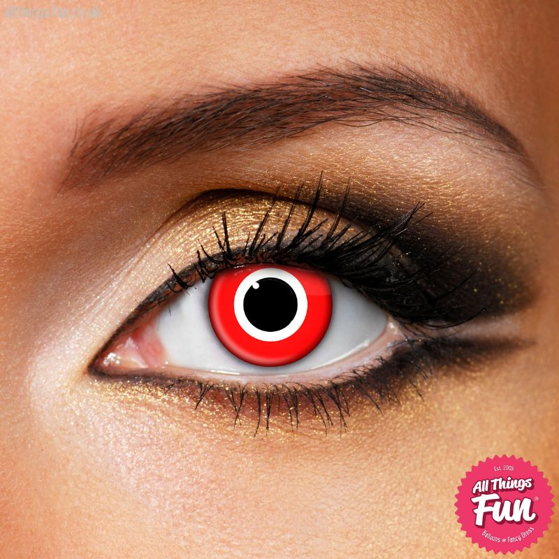 Funky Vision Assassin Cosmetic Lens - 1 Day Wear