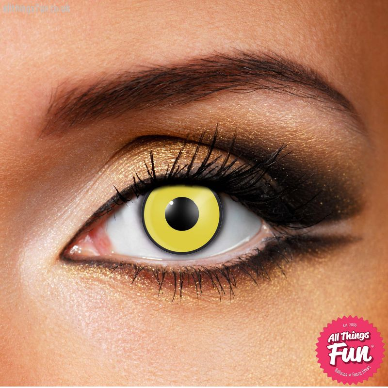 Funky Vision Mad Hatter Cosmetic Lens - 90 Day