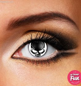 Funky Vision Skull Cosmetic Lens - 90 Day