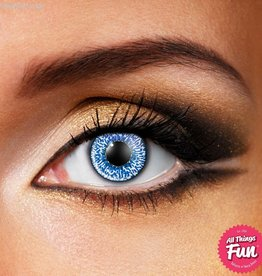 Funky Vision Mystic Sapphire Blue Cosmetic Lens - 90 Day