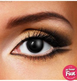 Funky Vision Black Cosmetic Lens - 1 Day Wear