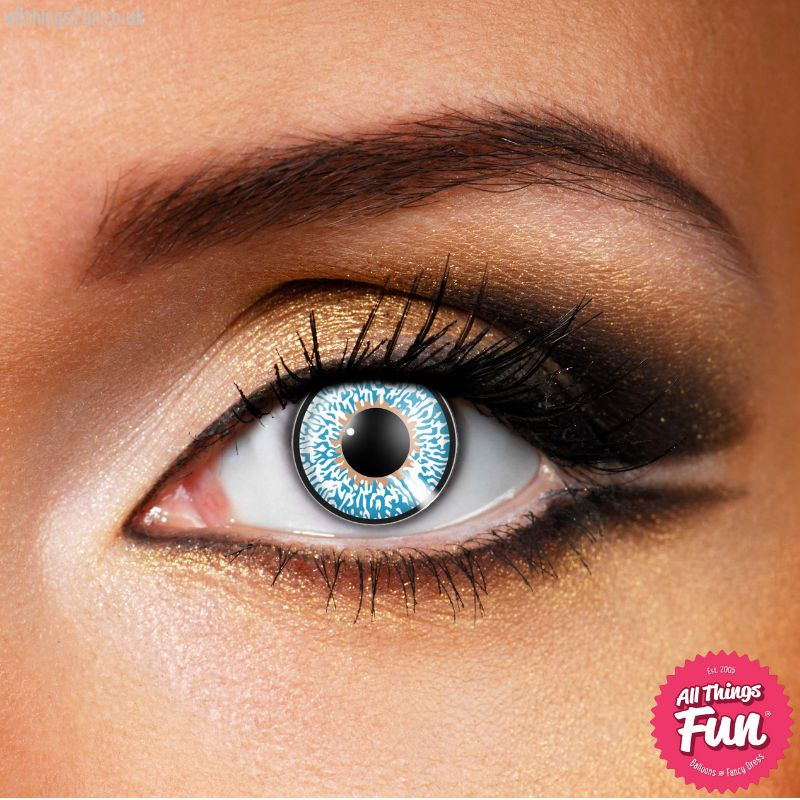 Funky Vision Aqua 3 Tone Cosmetic Lens - 90 Day