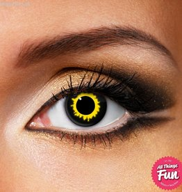 Funky Vision Wolf Cosmetic Lens - 1 Day Wear