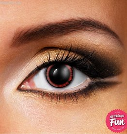 Funky Vision Red Manga Cosmetic Lens - 90 Day