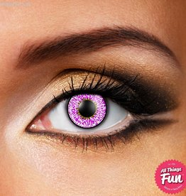 Funky Vision Violet 3 Tone Cosmetic Lens - 90 Day