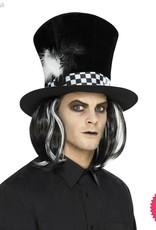 Smiffys Dark Tea Party Top Hat