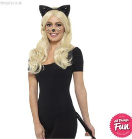 Smiffys Deluxe Wetlook Cat Kit