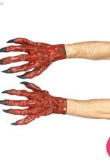 Smiffys Red Latex Devil Hands