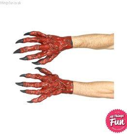 Smiffys *SP* Red Latex Devil Hands