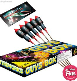 Absolute Fireworks Firework Deal 1 - Family Party - Guys Box & Ballistics