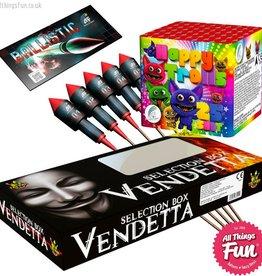 Firework Deal 3 - Vendetta Box, Ballistics & Happy Trolls