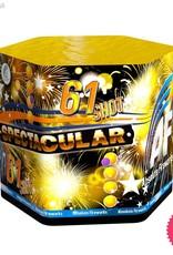 Absolute Fireworks AF61 Spectacular - 61 Shot single
