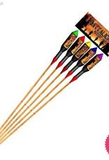 Taipan Fireworks Battalion 5 Large Rocket Pack single