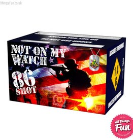 Taipan Fireworks Not on My Watch - 86 Shot