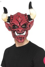 Smiffys Devil Mask, Foam Latex