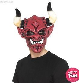 Smiffys *SP* Devil Mask, Foam Latex