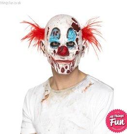 Smiffys Zombie Clown Mask, Foam Latex