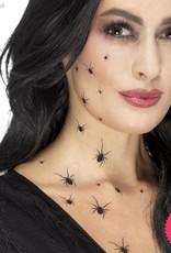 Smiffys Crawling Spider Tattoo Transfers