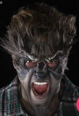 Smiffys *SP* Foam Brown Latex Werewolf Head Prosthetic with Adhesive