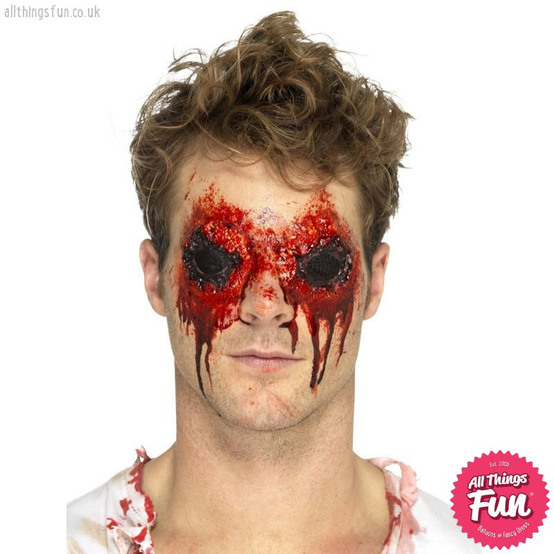 Smiffys *SP* Latex Zombie Eyes Prosthetic with Adhesive