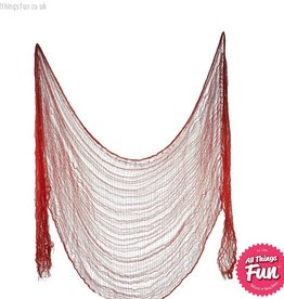 Smiffys Red Creepy Cloth 75cm x 300cm