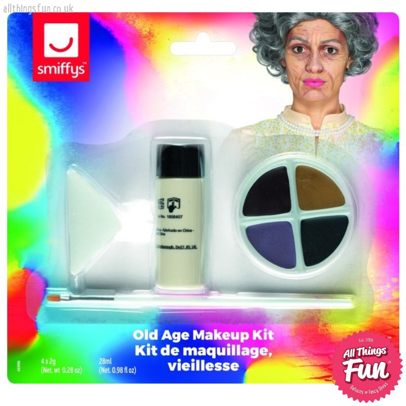 Smiffys Old Age Makeup Kit